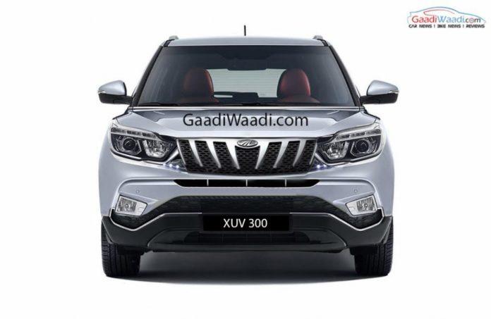 Mahindra-XUV-300-front-rendered