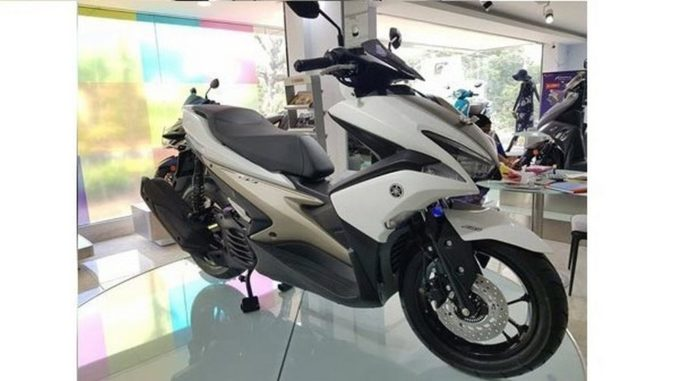 Yamaha Aerox 155 Scooter Spotted Again India