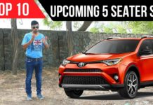 Top 10 Upcoming 5 Seater SUVs In India
