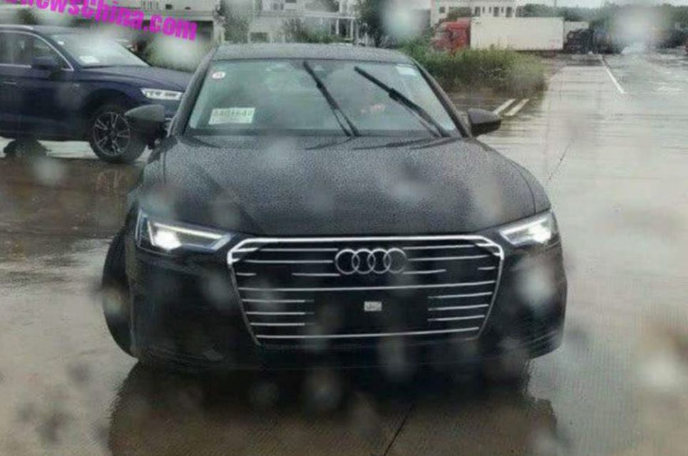 2018 Audi A6 L China Front
