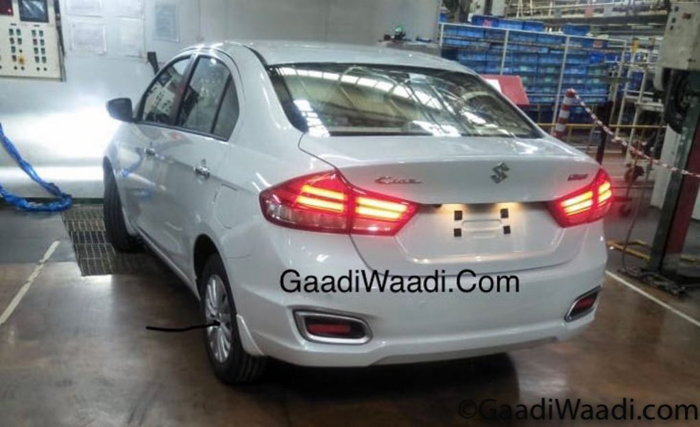 2018 Maruti Suzuki Ciaz Spied Inside And Out; Ready For Launch