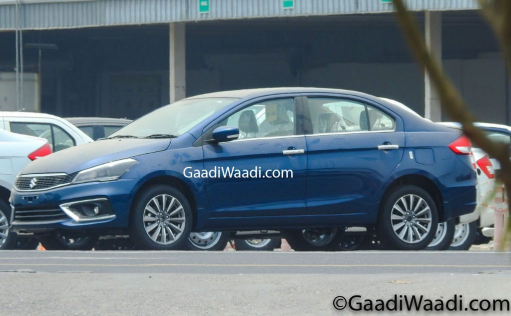 2018 Maruti Suzuki Ciaz Spied Inside And Out; Ready For Launch 3