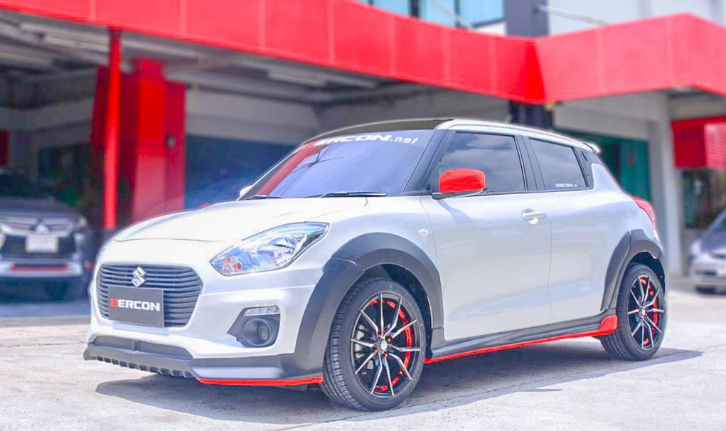 2018 suzuki swift zercon body kit