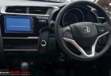 2018 honda jazz interior_