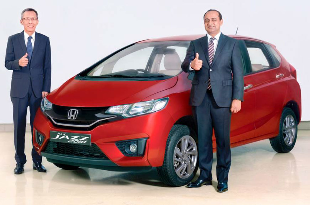 2018 honda jazz launched