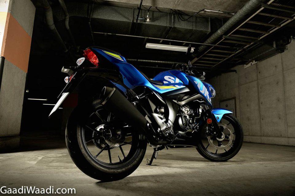 2019 Suzuki Gixxer (GSX-S125 Representational Image) 2