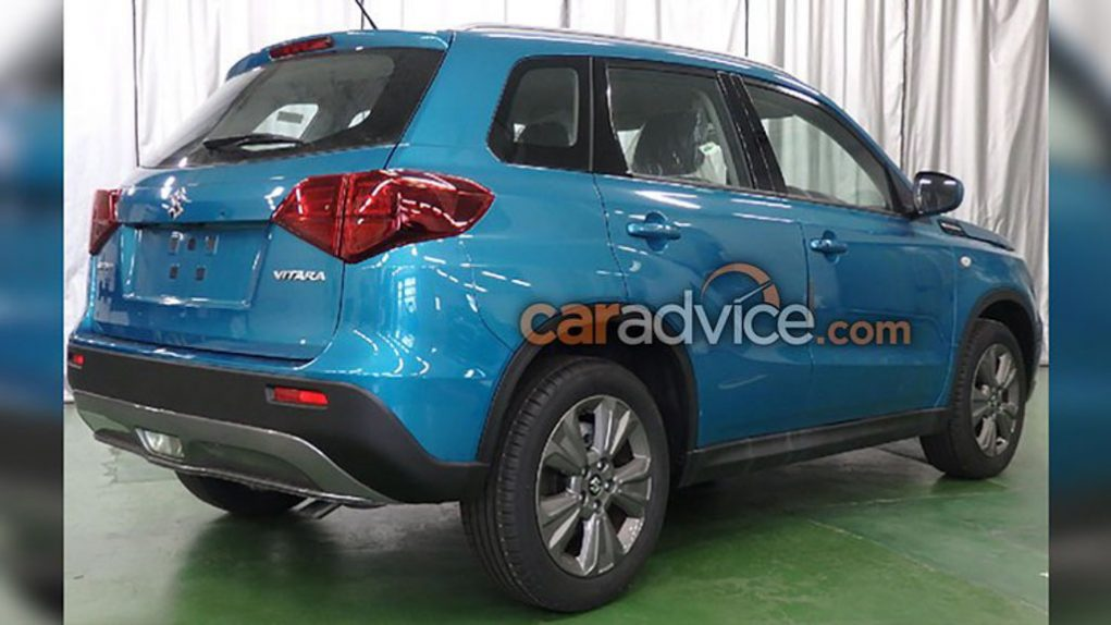 Suzuki Grand Vitara 2018 Indonesia >> 2019 Suzuki Vitara SUV Leaked Online Showing New Updates