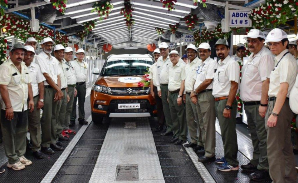 maruti suzuki 2 crore car sales