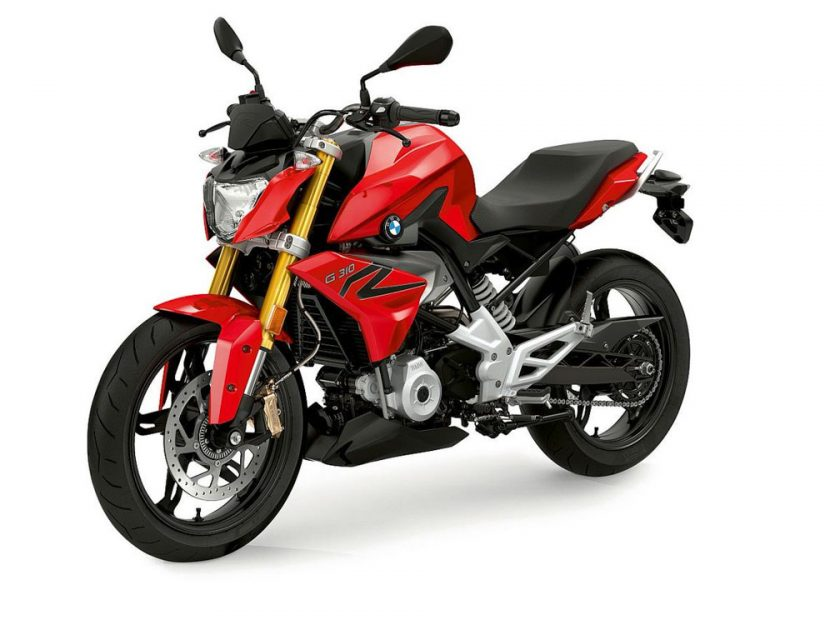 BMW G310 R Red Launched In India