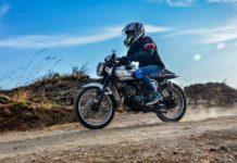 This Custom Yamaha RX135 Boasts Café Racer Theme