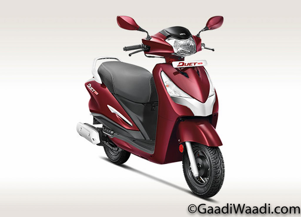 Hero Duet 125 India Launch, Price, Specs, Features, Mileage, Booking