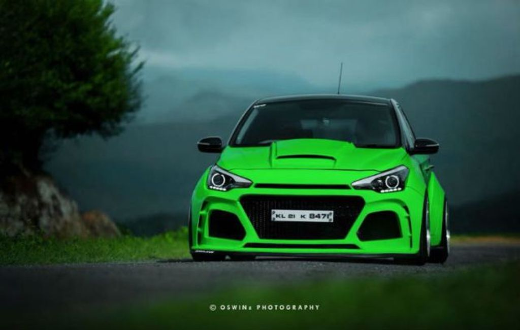 How Much Is A Car Paint Job >> Hyundai Elite i20: 5 Extremely Modified Examples From India