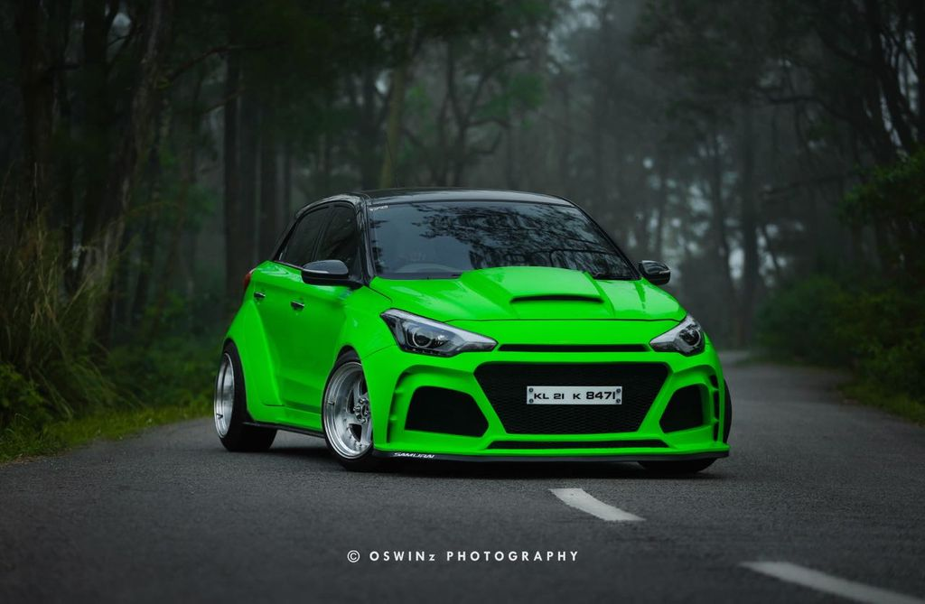 Modified Hyundai Elite i20