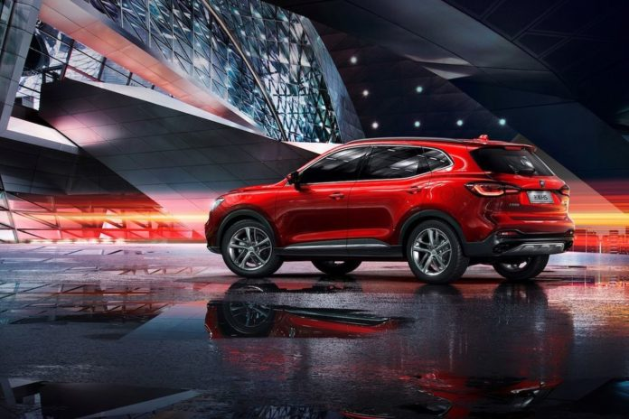 India-Bound MG's Flagship SUV HS Revealed In China
