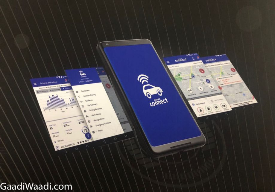 Maruti 'Suzuki Connect' Features_