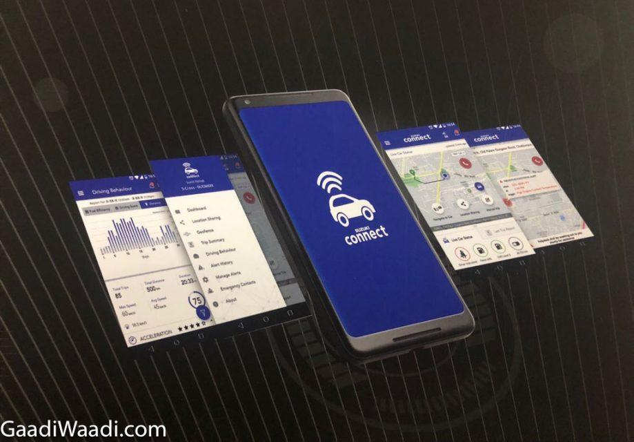 Maruti 'Suzuki Connect' Features_