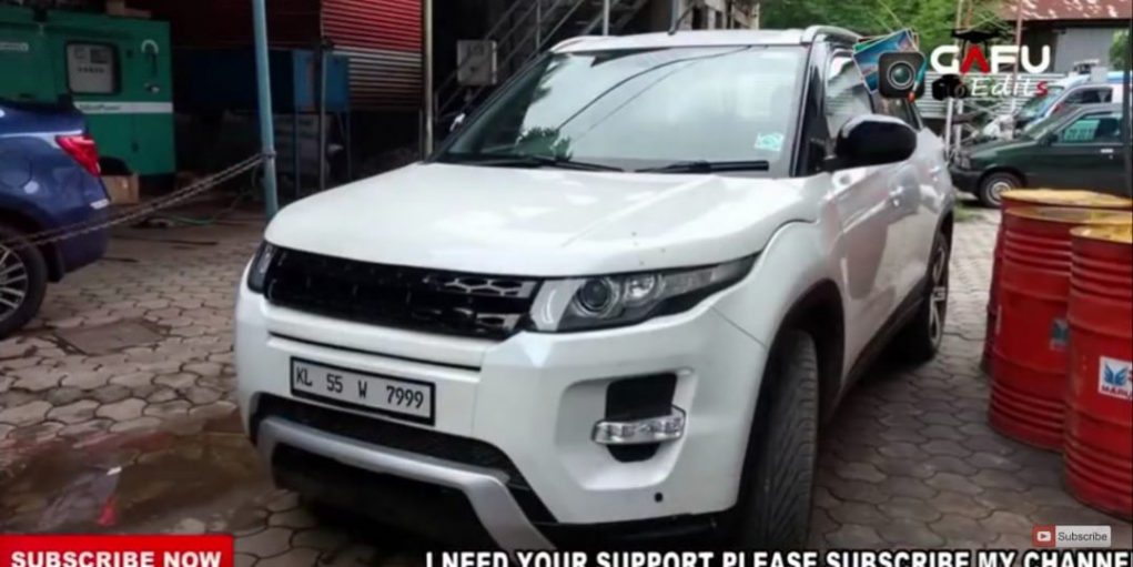 Customised Maruti Vitara Brezza