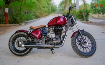 Modified Royal Enfield Standard 350 Is A Gorgeous Bobber