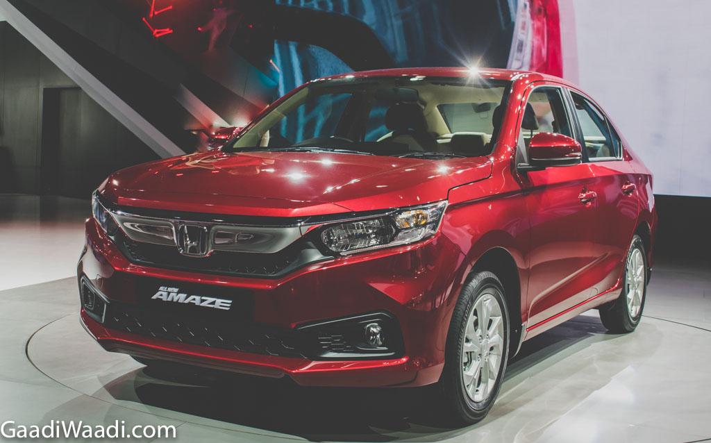 New 2018 honda amaze (Honda Beats Mahindra)