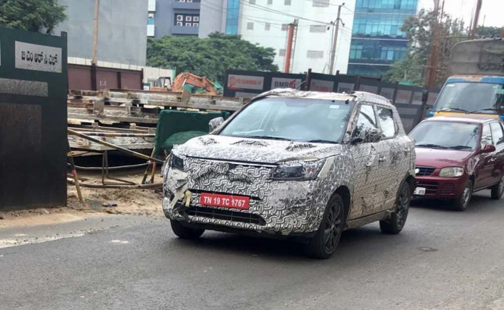 New 2018 Mahindra S201 Spy Shot