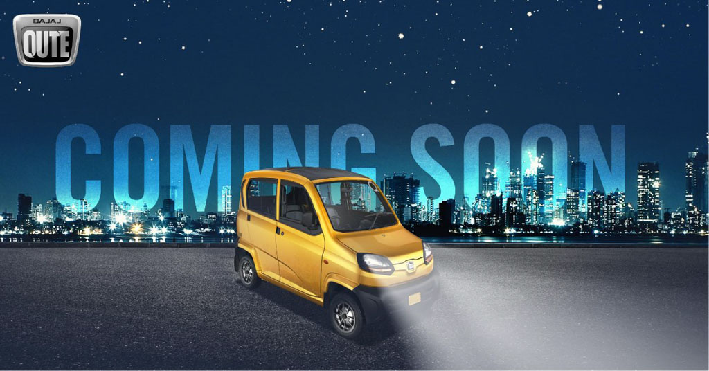 OFFICIAL! Bajaj Qute Launching Soon In India