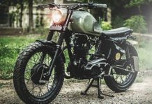 Custom Royal Enfield AVL 350