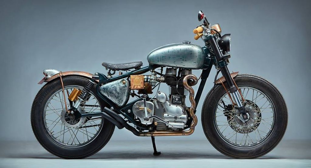 Modded Royal Enfield