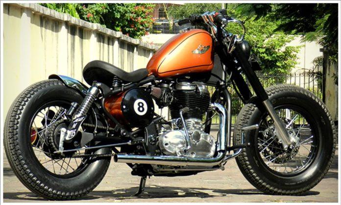 Rajputana-Customs-8-Ball-2 (Customised Royal Enfield Classic 500)
