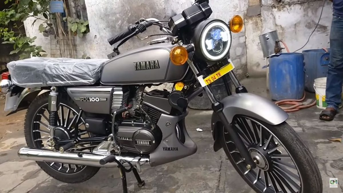 This Restored Yamaha Rx100 Is For The True Enthusiast Of The Icon