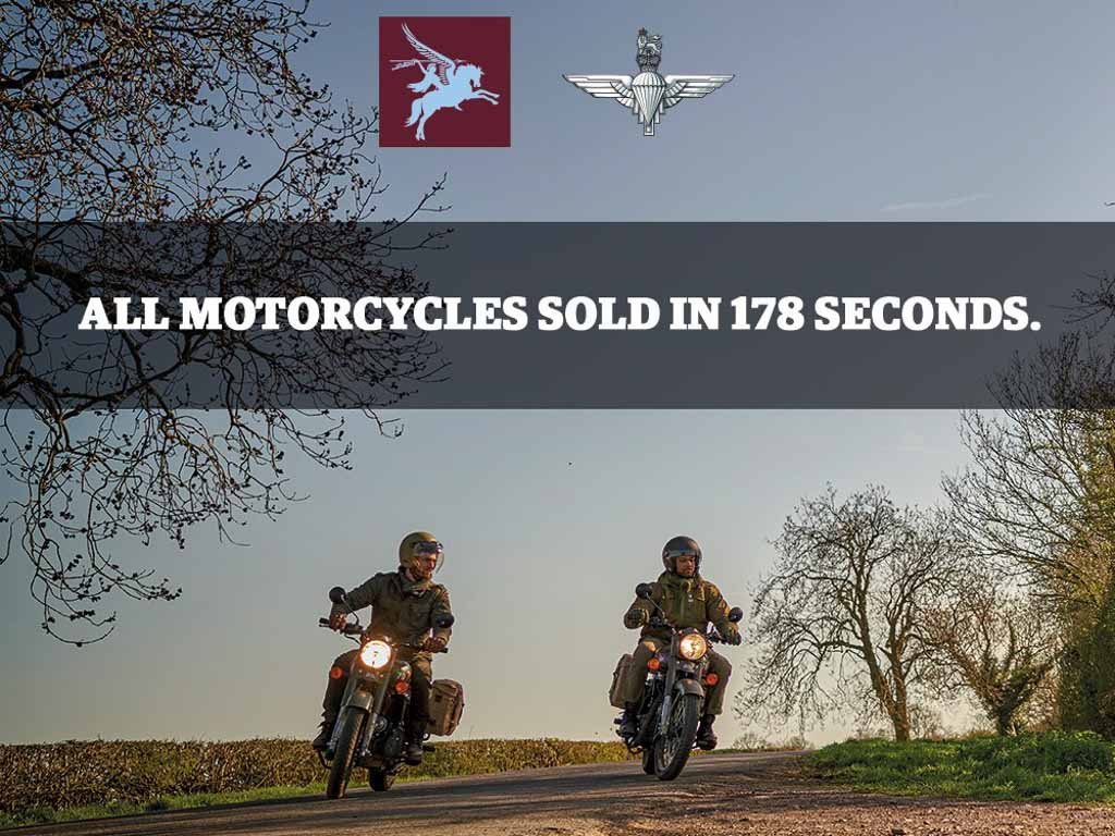 Royal Enfield Classic 500 Pegasus Edition Sold Out In 178 Seconds