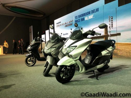 Suzuki Burgman Street 125 Launched In India, Price, Specs, Booking, Mileage, Features 1