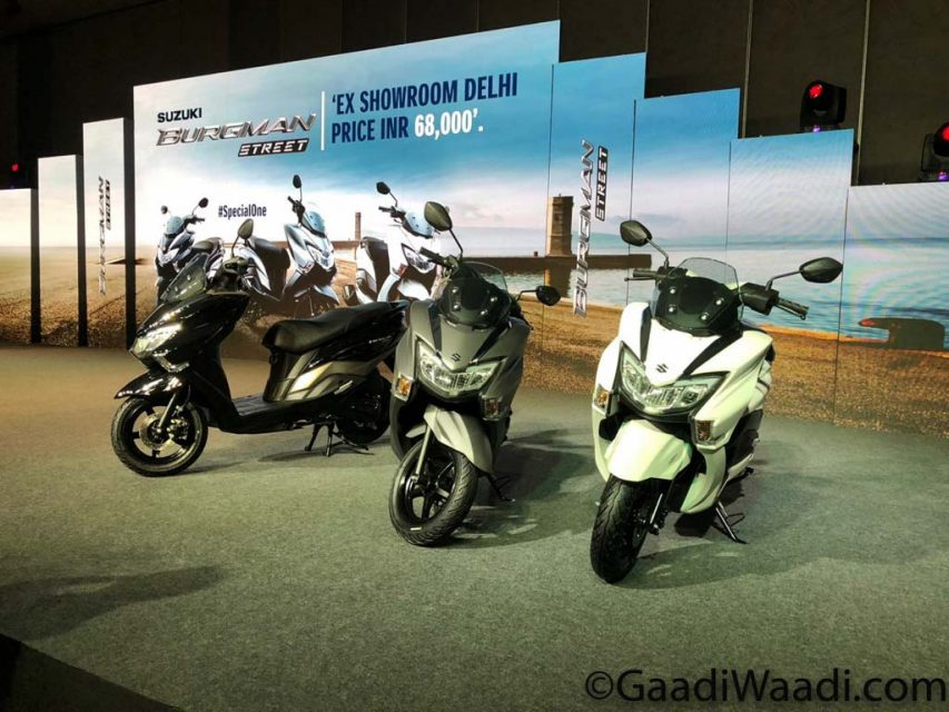 Suzuki Burgman Street 125 Launched In India, Price, Specs, Booking, Mileage, Features 3