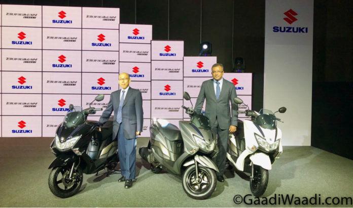 Suzuki Burgman Street 125 Launched In India, Price, Specs, Mileage, Features, Booking