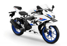 Suzuki GSX-R150 White Colour Launched Indonesia