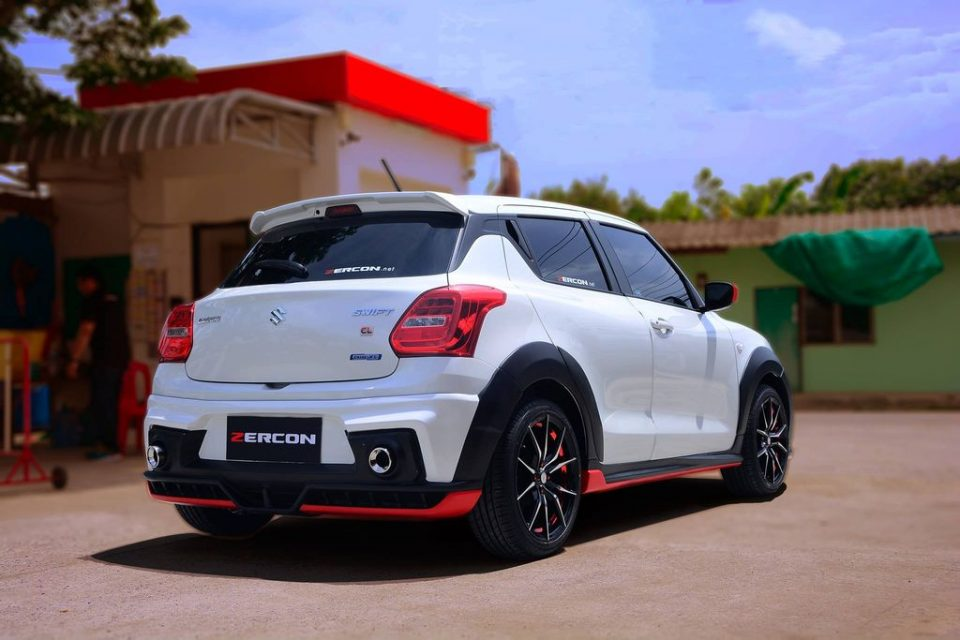 Suzuki-Swift-with-Zercon-body-kit-2