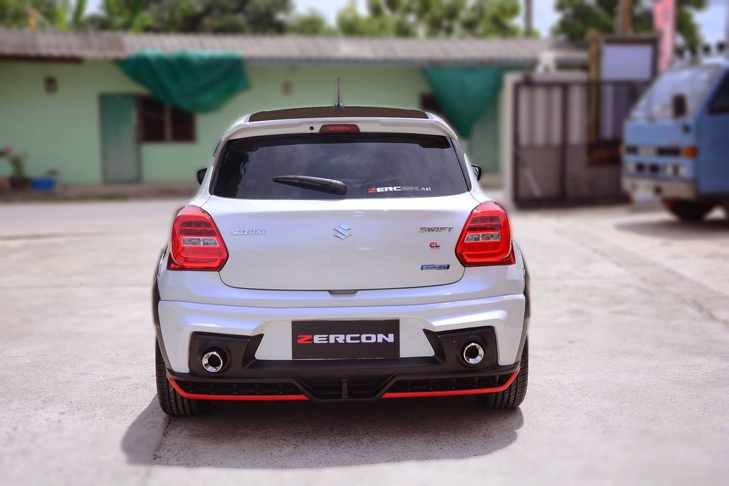 2018 Suzuki Swift With Zercon Body Kit Looks Aggressive
