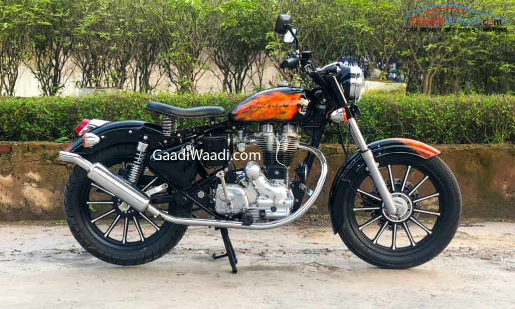 This Restored 1982 Royal Enfield Is A Custom Marvel 14