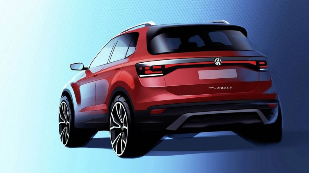 Volkswagen T-Cross Compact SUV Teased