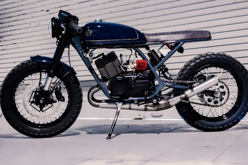 This Yamaha RD350 Café Racer Is a Dream Machine For Every RD