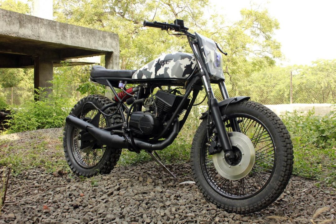 Yamaha Rx 100 Scrambler Is Rebirth Of An Iconic Stallion