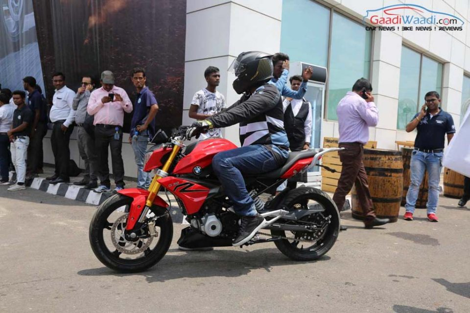 bmw g310 r and bmw g310 gs launch pics -61