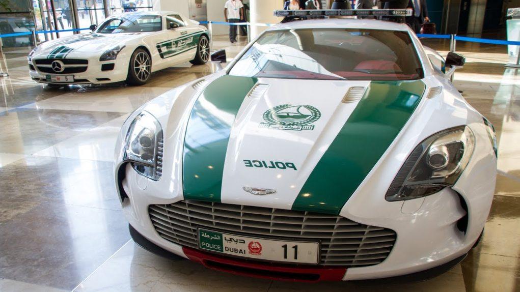 dubai police Aston Martin One-77