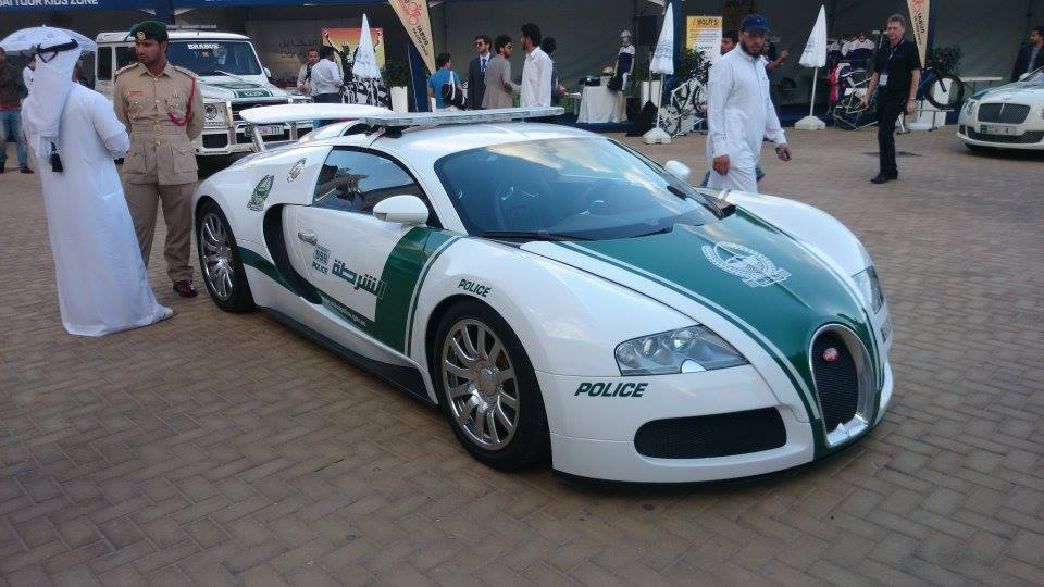 Top 10 Ludicrous Supercars In Dubai Police Fleet