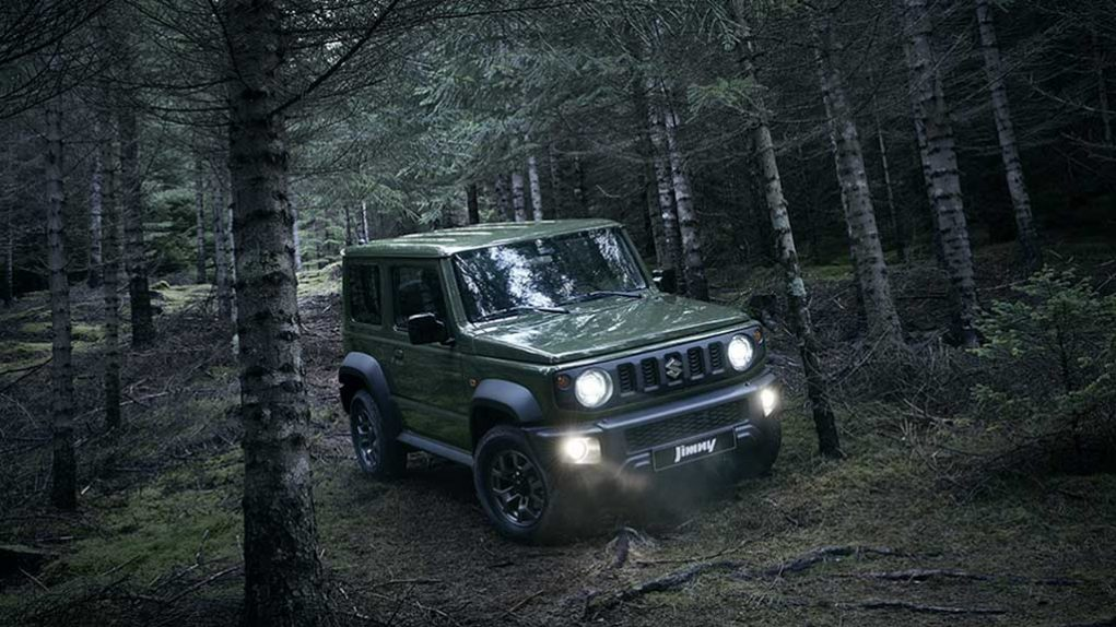 india-Bound Suzuki Jimny 2