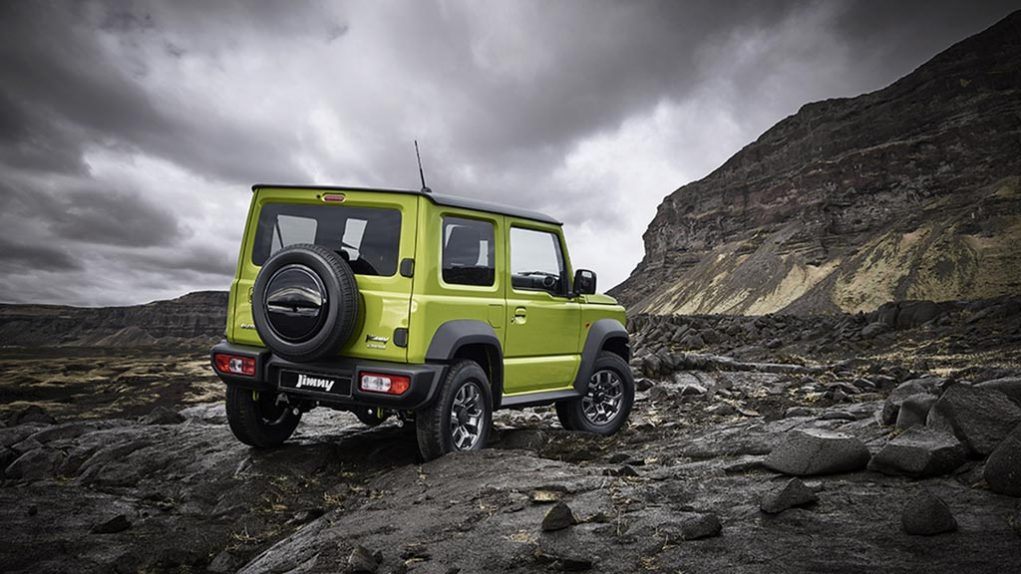 india-Bound Suzuki Jimny 4