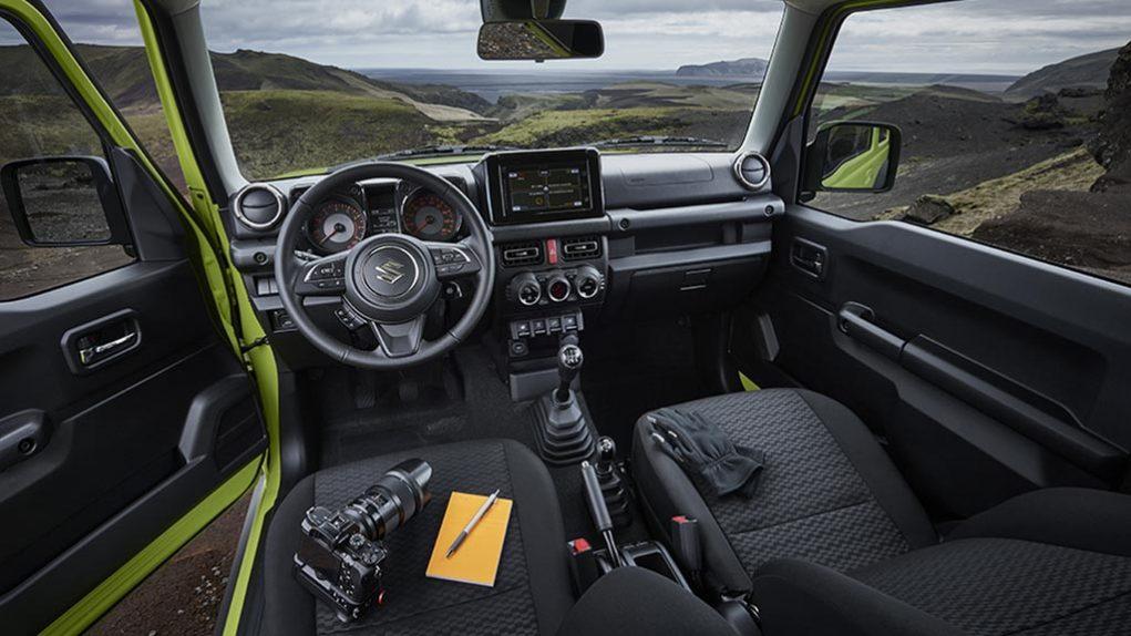 india-Bound Suzuki Jimny Interior 1