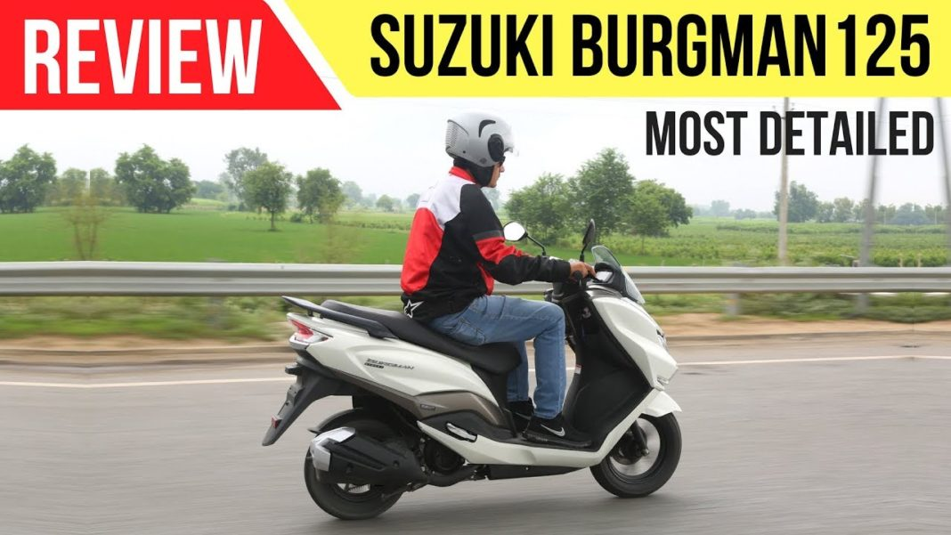 suzuki burgman street 125 review