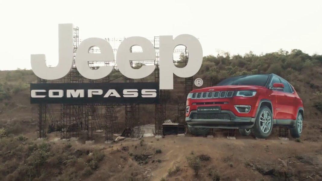 Jeep Compass Billboard India Mumbai-Pune Expressway
