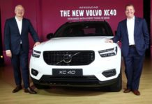 xc40 launched