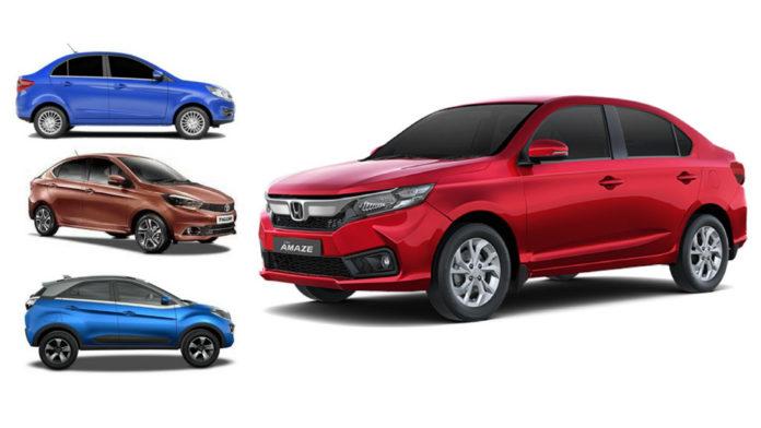2018 Honda Amaze Is Major Roadblock In Tata's Dreams Of Becoming No.3 Brand (tata no.3 auto brand)